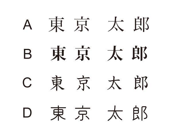 【名刺デザイン】限りなくシンプルな名刺データを作成します。