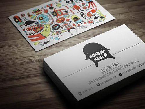 あなたの色を出す「2枚目の名刺」作成いたします 予算をかけずに理想のデザインを希望される方へ