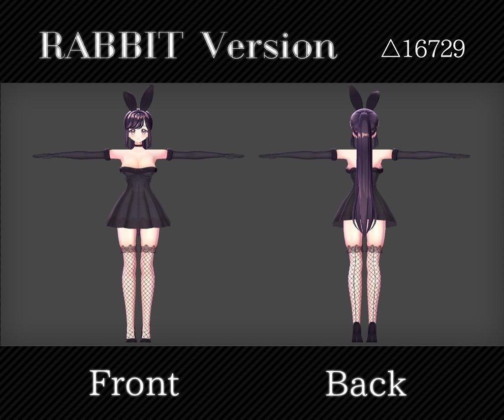 フルスクラッチの3Dキャラクターを制作します VtuberやVRC、MMD用3Dモデルが必要なあなたへ