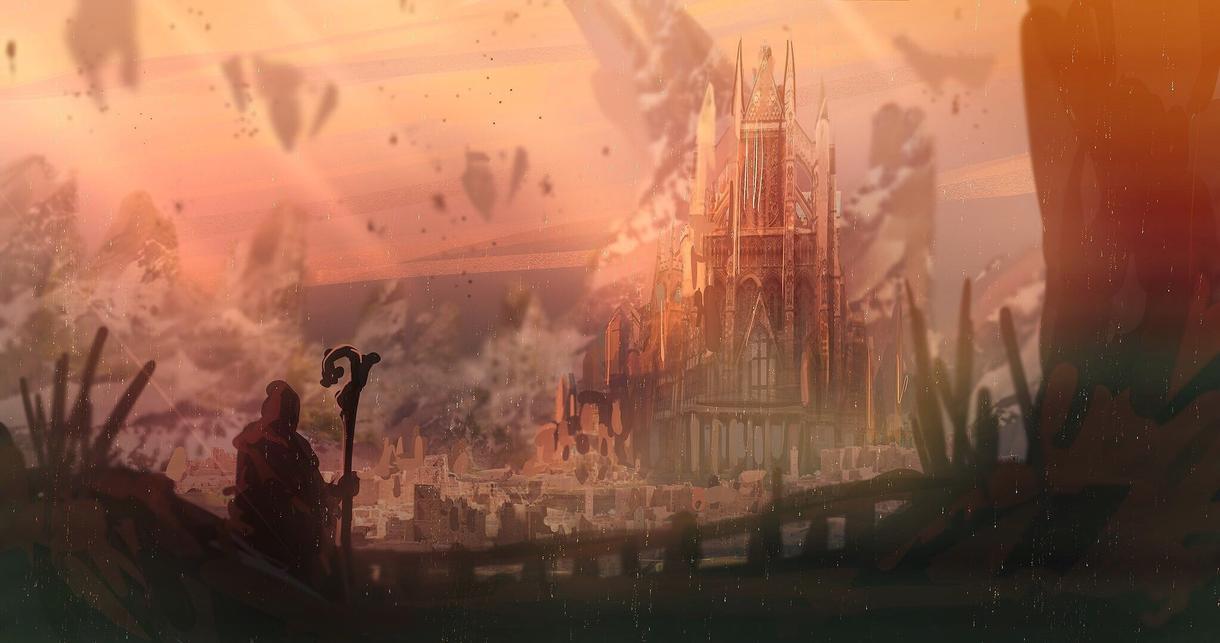 背景、コンセプトアート制作いたします 小説、ゲームやSNSのヘッダーなど描きます!