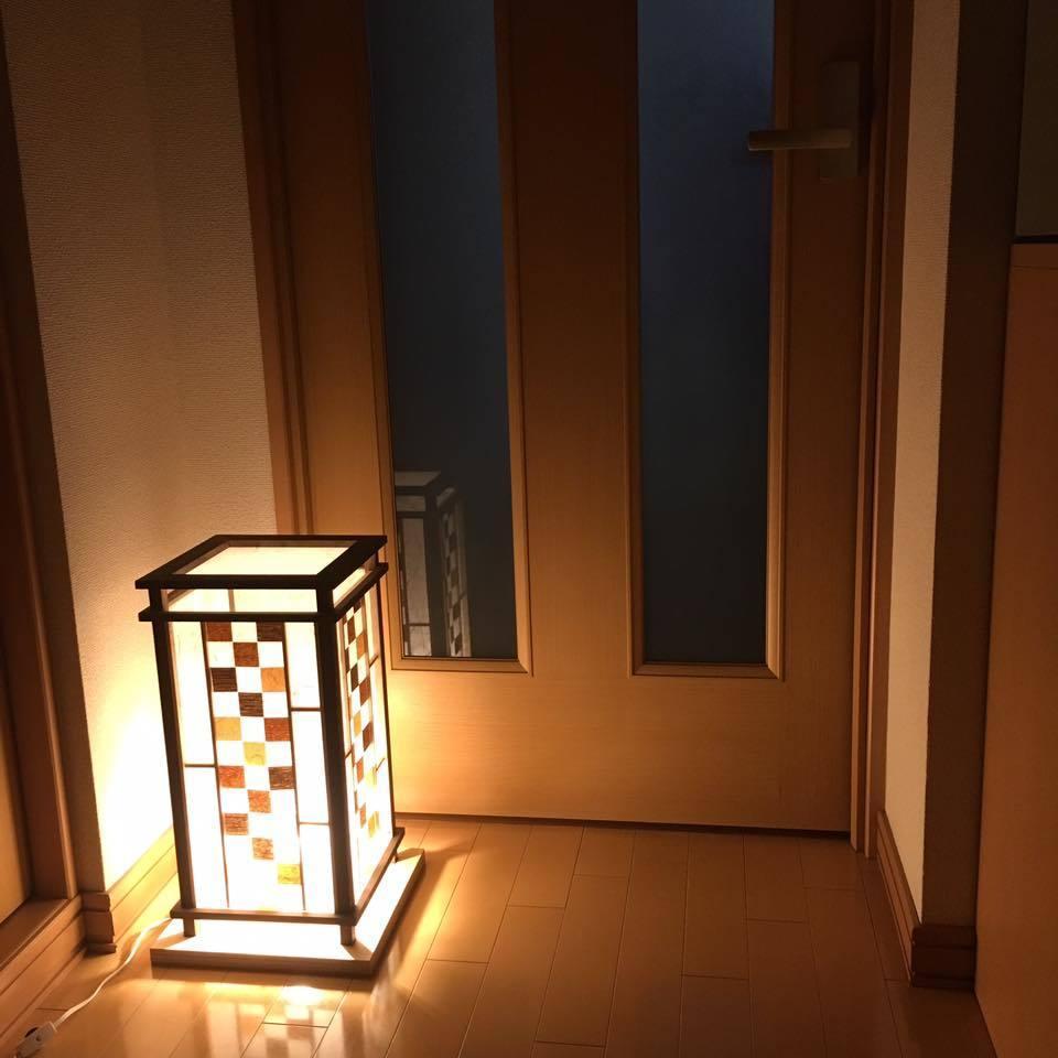Lamp shade 木工作品をご自身で作れます 木製の行灯をご自身で作品化出来ます。 イメージ1