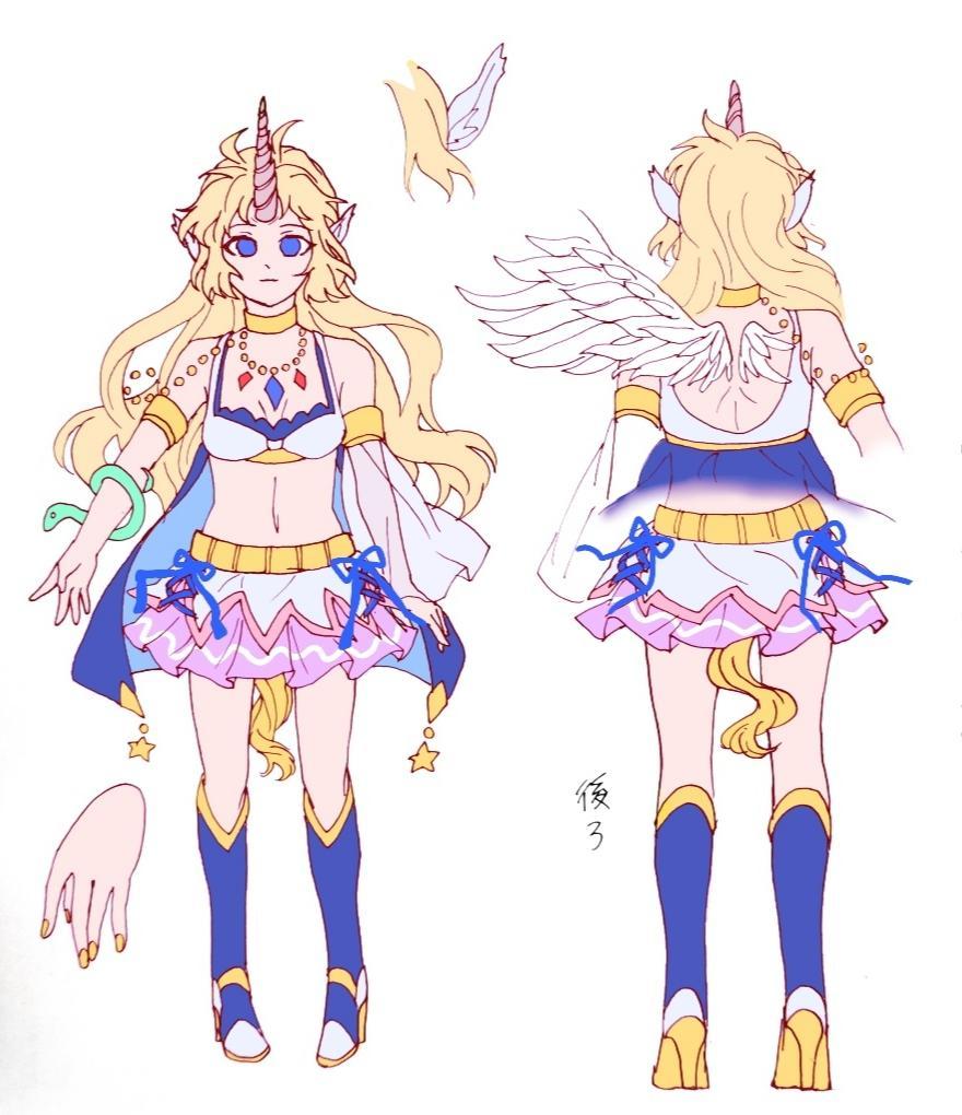 キャラクターデザインします 自分のオリジナルキャラクターを!