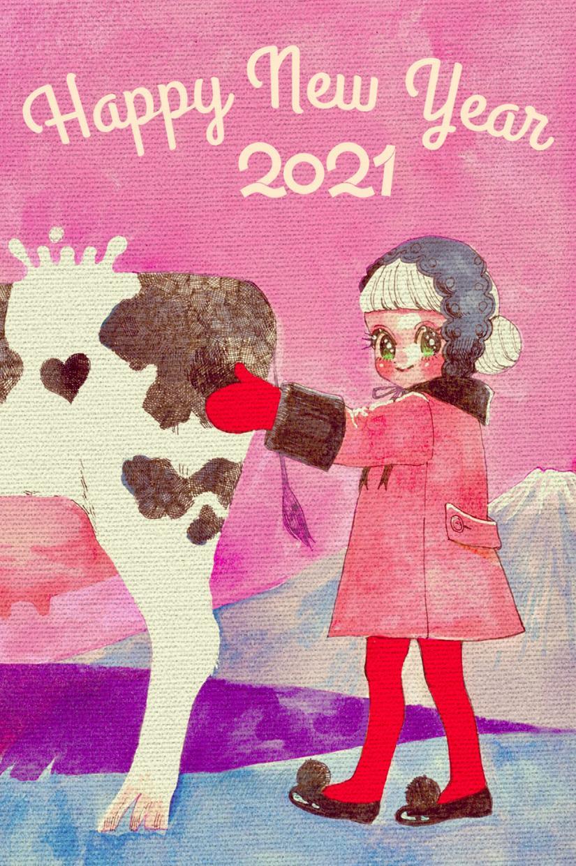 年賀状、暑中お見舞いイラスト描きます ほんわかキャラクターでオリジナリティある季節のご挨拶 イメージ1