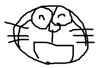 「すごく下手」な絵を書きます。 イメージ1