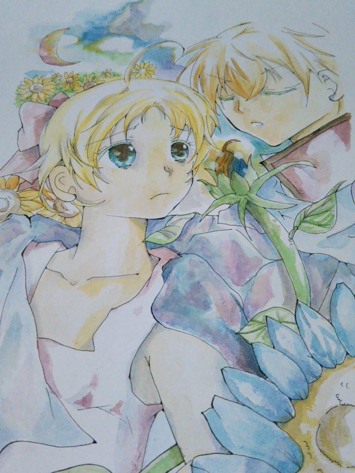 可愛いアナログイラスト描きます アナログが好きな方。可愛い女の子が好きな方へ。