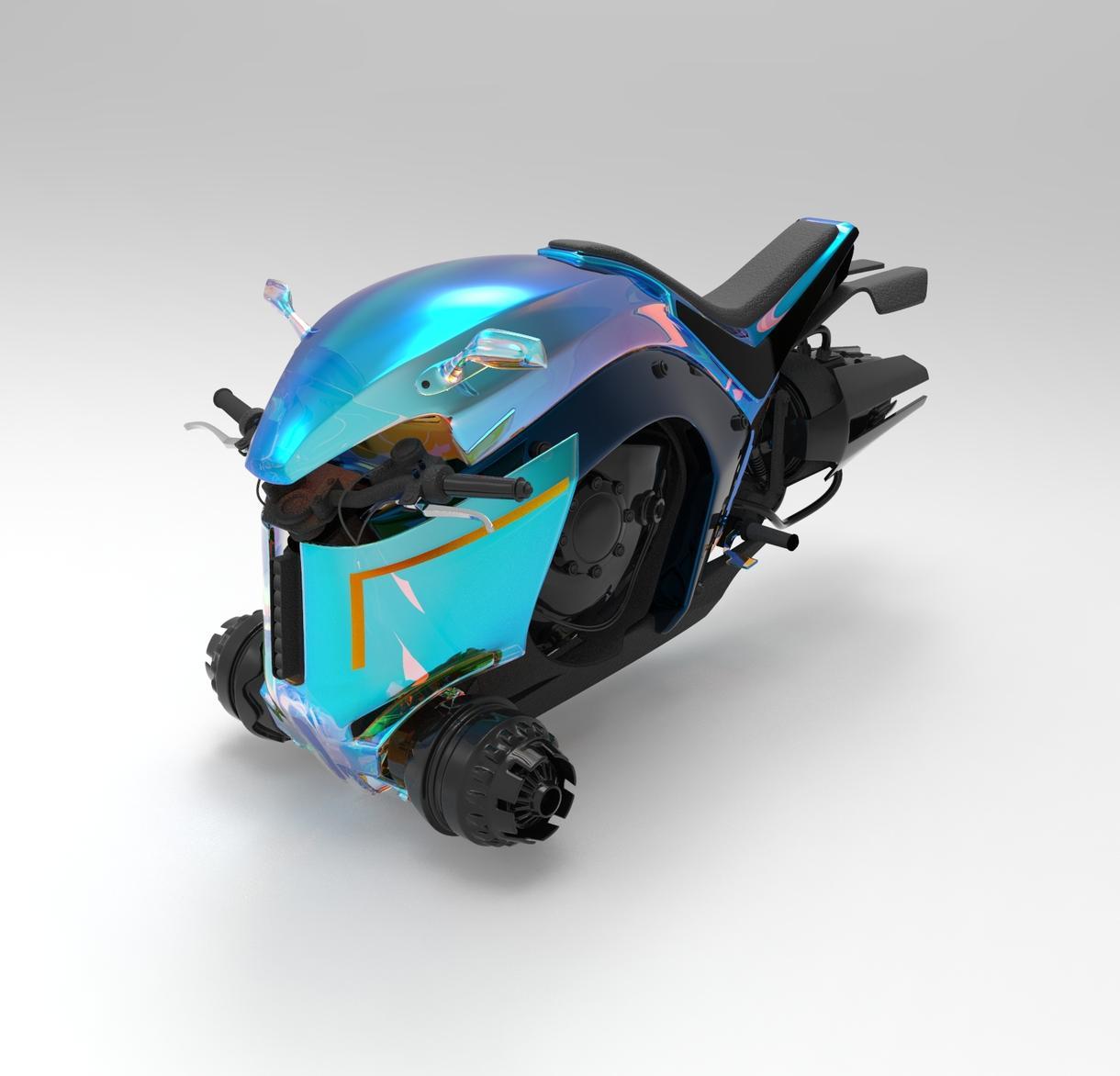 3Dオブジェクト製作とCGターン動画をお作りします 手描きアイディアや商品等のCGムービーを作成します
