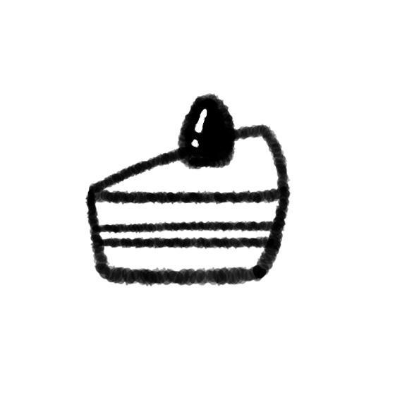 少ない色と線でシンプルなイラストを描きます 美大出身者がお客様の要望を聞きシンプルなイラストを作成します