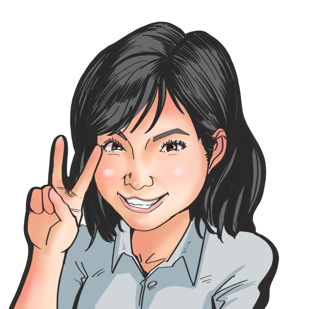 貰ったら嬉しい!暖かみのある本格似顔絵描きます 漫画家のアシスタントで培った技術でお客様の要望に答えます!