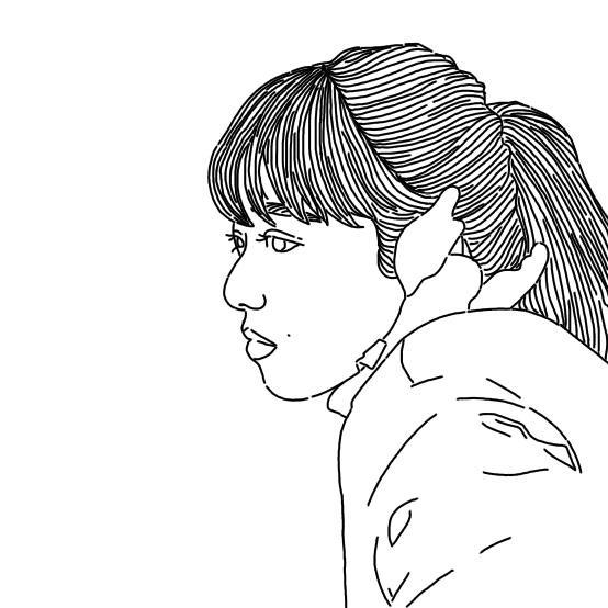 シンプルでオシャレな線画イラスト描きます あなただけのオシャレなアイコン描きます