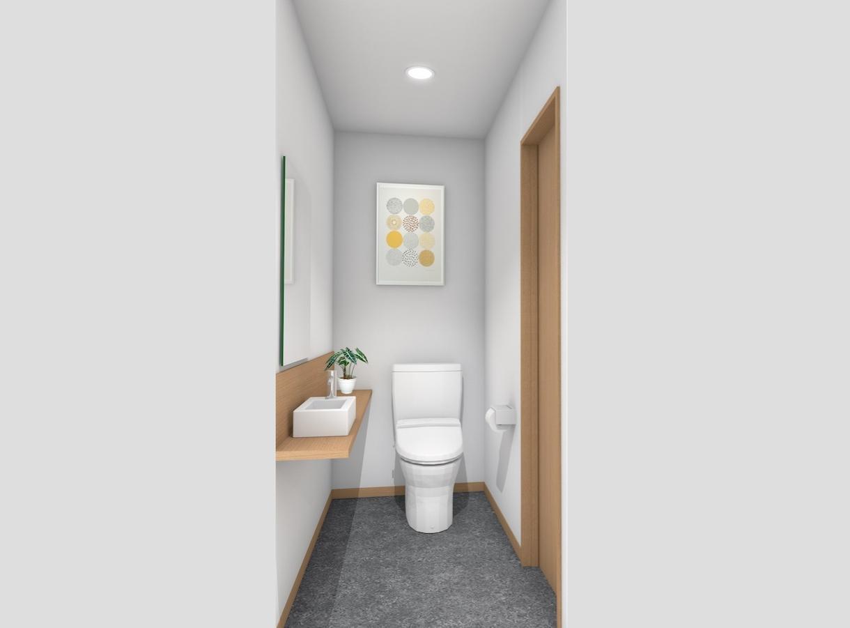 簡易な品質のCGパースを提供します わかれば良い、トイレ、単品什器など イメージ1