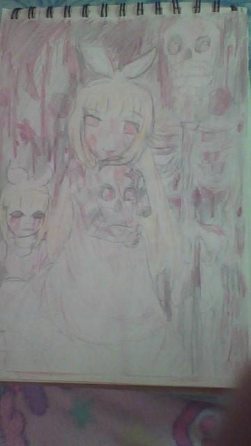 病んだ人にはおすすめします 病んだアリスを想像して描いてみました イメージ1