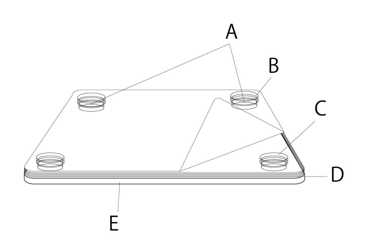 特許等取れる製品デザイン申請用設計図提供します 建築設計とデザイン両方経験!特許庁審査に通る図面を目指します イメージ1