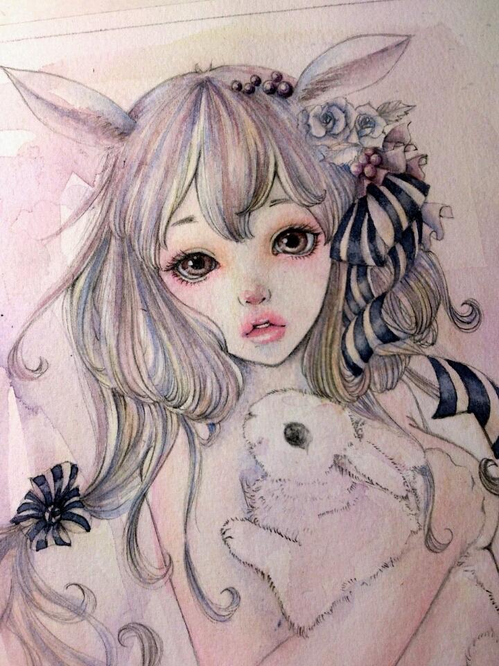 透明水彩でイラスト描きます ☆あなただけの取っておきの一枚を描かせていただきます。