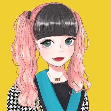 SNS等で使用する女の子のアイコンを描きます 自分だけのアイコンが欲しい方へ