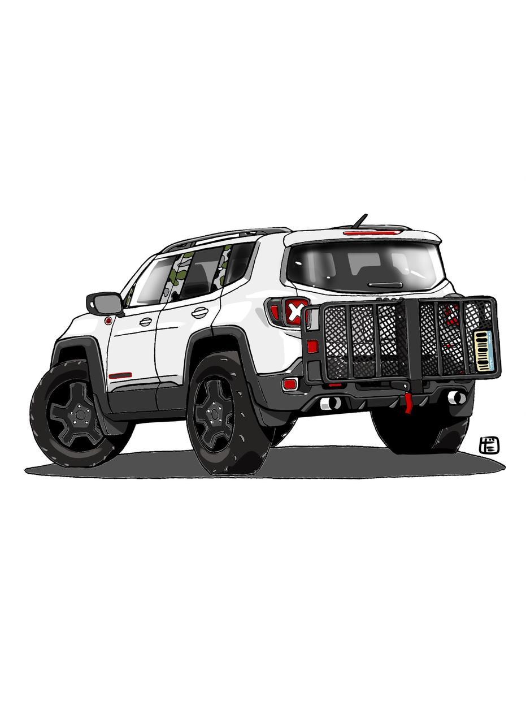 あなたの愛車や乗り物のイラストを描きます SNSのアイコン、家族や友人のプレゼントに!