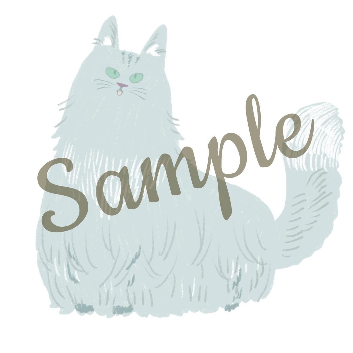 絵本風のタッチで、ペットのイラストを描きます 大好きなペットを世界に一つだけのイラストに。