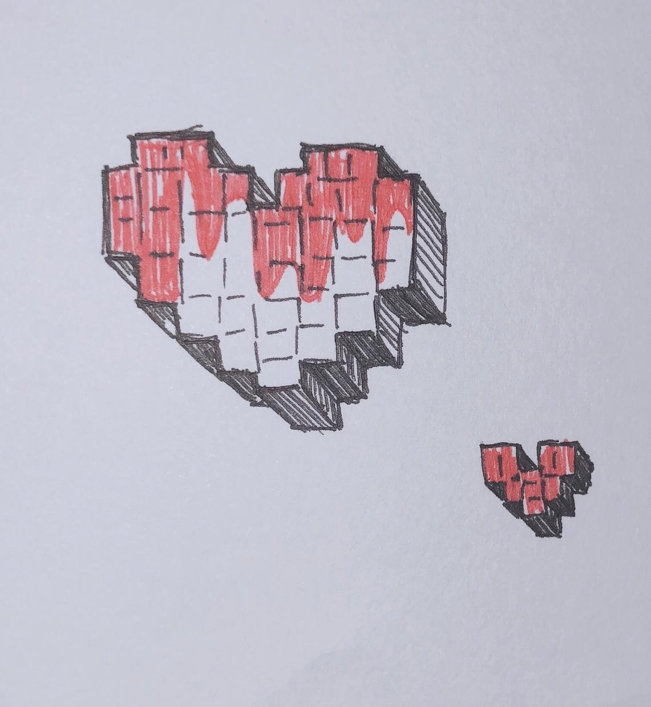 手描きで絵を描きます Twitterのアイコンなど!