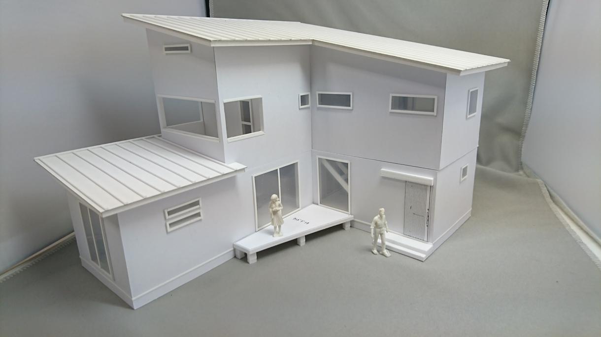 計画建物のスタディ模型(白模型)を製作しています 建設会社様・不動産会社様の建物造りのお手伝いをさせて頂きます
