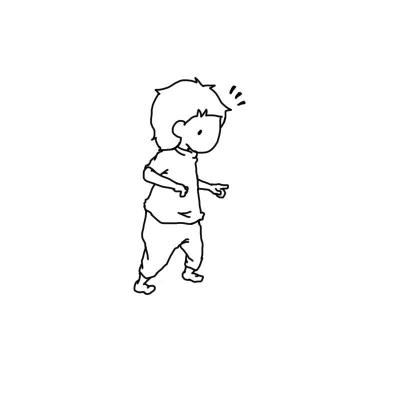 パラパラ漫画風!コマ送りアニメを作ります 大切な人の誕生日や記念日などに、似顔絵動画のプレゼントを!!