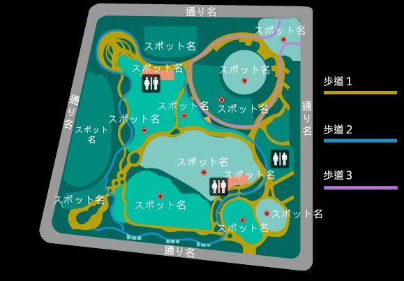 3日以内納品、地図 / フロアマップを作成します 手書き・指定住所でもOK!分かりやすくお作りします!