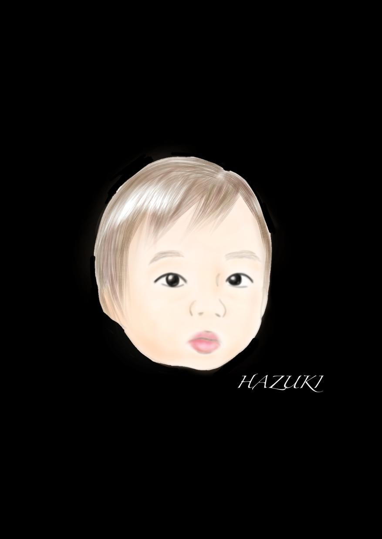 ふんわり似顔絵描きます ママ目線で描きます可愛いお子さんの写真から似顔絵どうですか?