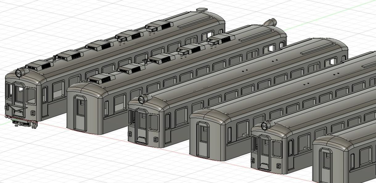 鉄道模型を中心に3Dデータを作成します Nゲージ、HOゲージサイズどちらにも対応、他相談可です。 イメージ1