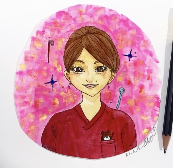 SNS用アイコン水彩画の似顔絵承ります 海外タッチ風のお洒落な手描きで描かせていただきます