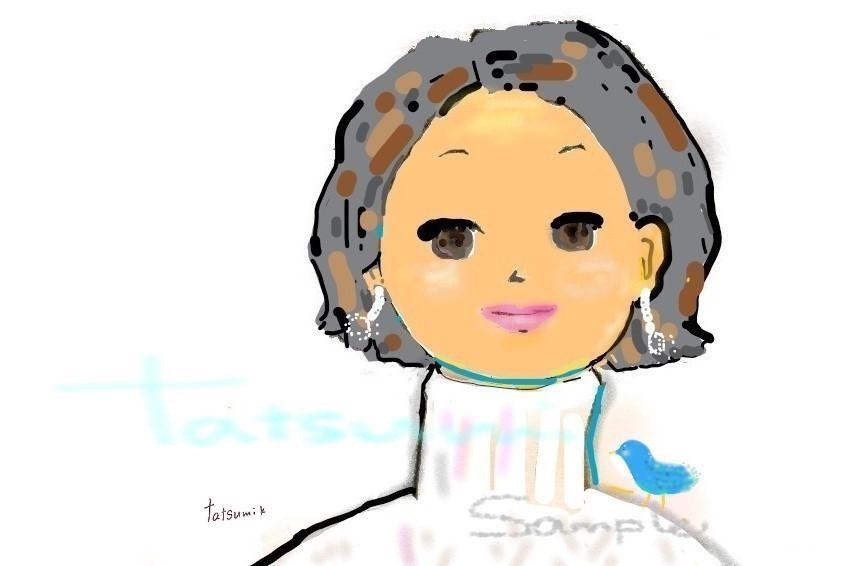 おしゃれかわいい♪イラスト描きます -手描き線を活かした水彩&アクリル風のイラストです- イメージ1