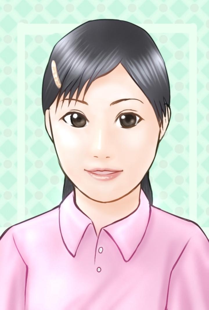 お写真から似顔絵を描きます お気に入りの写真を絵にしてみませんか?