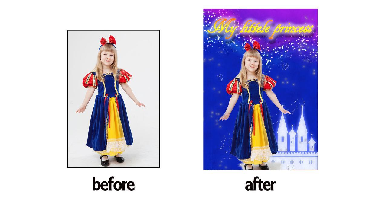 写真切り抜き加工、背景合成します photoshopで加工、細かなエフェクトも対応します!