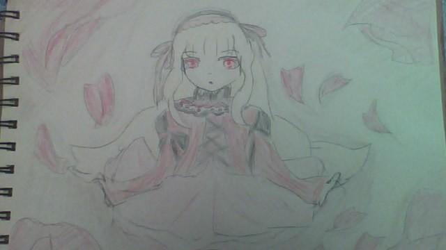 かわいい物好きのおすすめします ヴァンパイアのお嬢様描いてみました。 イメージ1