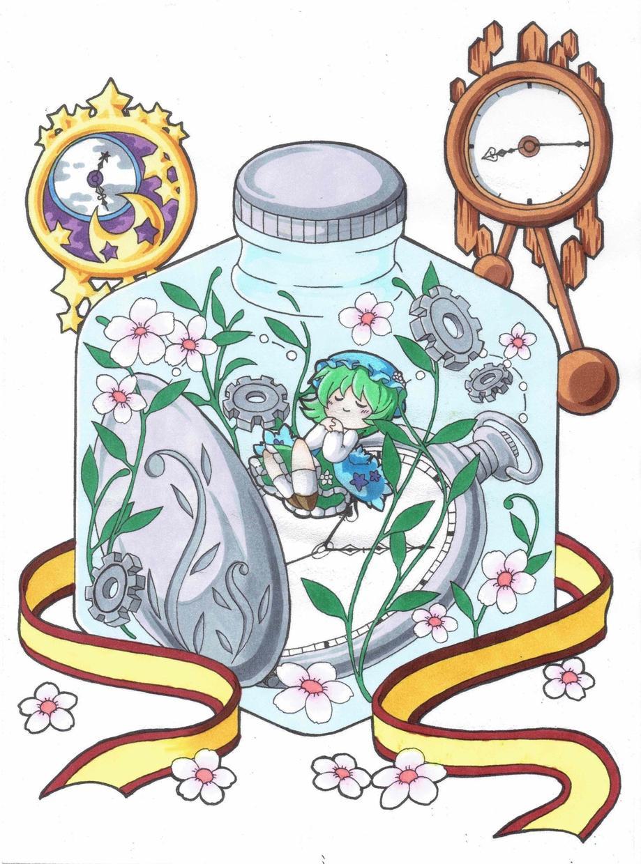 オリジナルキャラクターの箱庭イラスト描きます キャラの世界観を可愛く描きます!