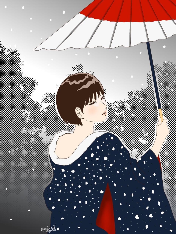 和風イラスト描きます 日本的なイラストが欲しい方へ!