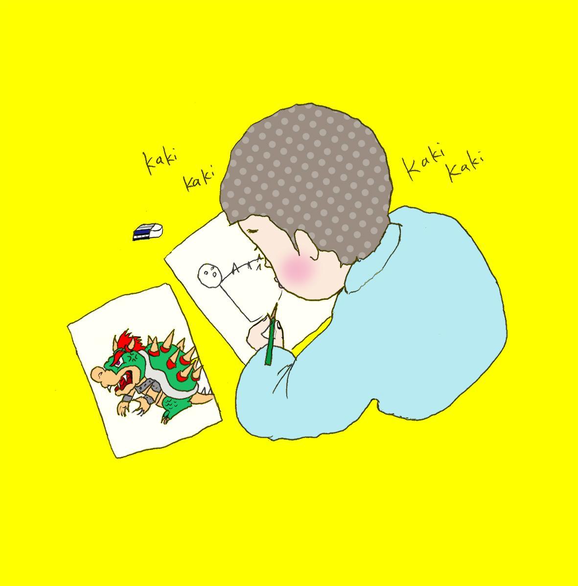 ゆるめ・オシャかわゆいイラスト描きます ちょいブサイクだけど、どこかファッショナブルな人物イラスト!