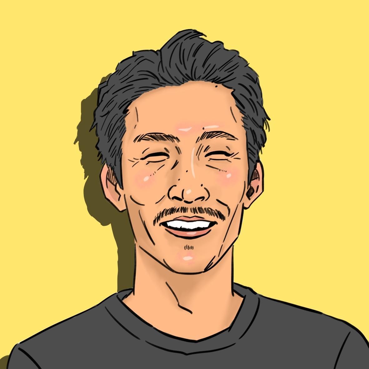 リアルすぎないシンプルな似顔絵をお描きします SNSのアイコンや名刺、プロフィール画像やプレゼントに!