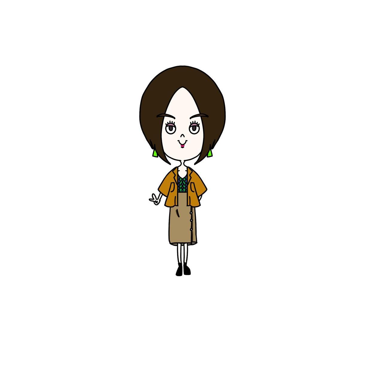 個性派のあなたに専用アイコンを描きます 似顔絵、アイコン、キャラクター化、イラスト、デザイン