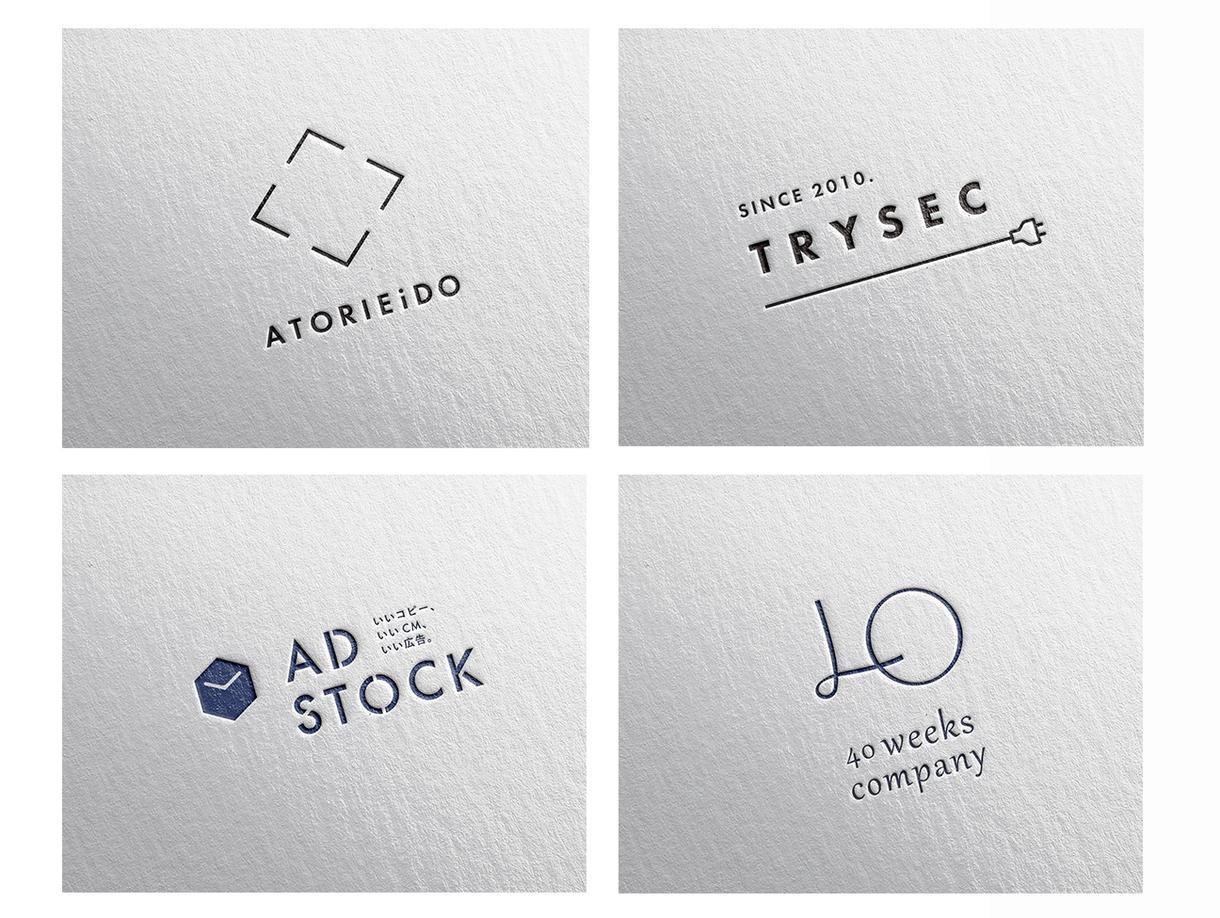 シンプルでミニマル・品のあるロゴをデザイン致します aiデータ込 丁寧なヒアリングで想いを乗せたロゴデザインに イメージ1