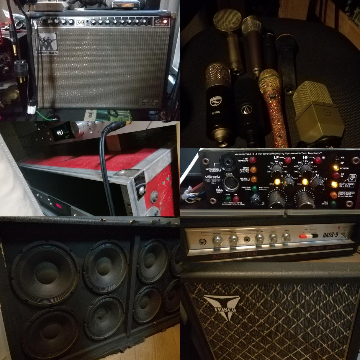 キャンペーン価格!ライン素材をリアンプします 自宅録音ライン録りのエレキギターやベースを最強にしませんか?