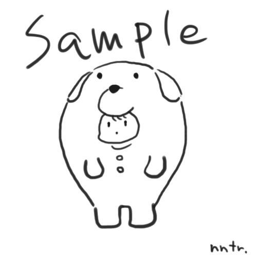 SNS等で使用するアイコン・イラスト作成します ゆるくシンプルな動物の着ぐるみイラスト