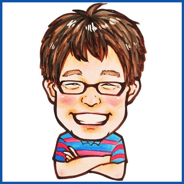 """☆年賀状イラストに☆プロの似顔絵師が""""可愛い""""&""""そっくり""""似顔絵描きます!☆短納期☆"""