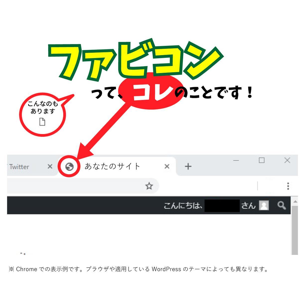 サイトの「とりあえず」のファビコン作成します サイトを立ち上げたばかりのあなたへ!