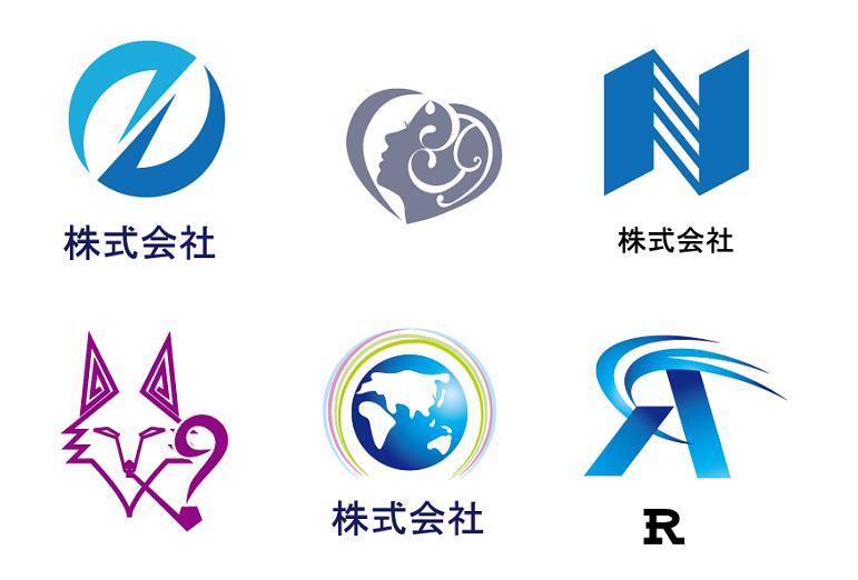図形のロゴ(ロゴマーク) 税込価格5,400円 (最低5案,無料修正3回)