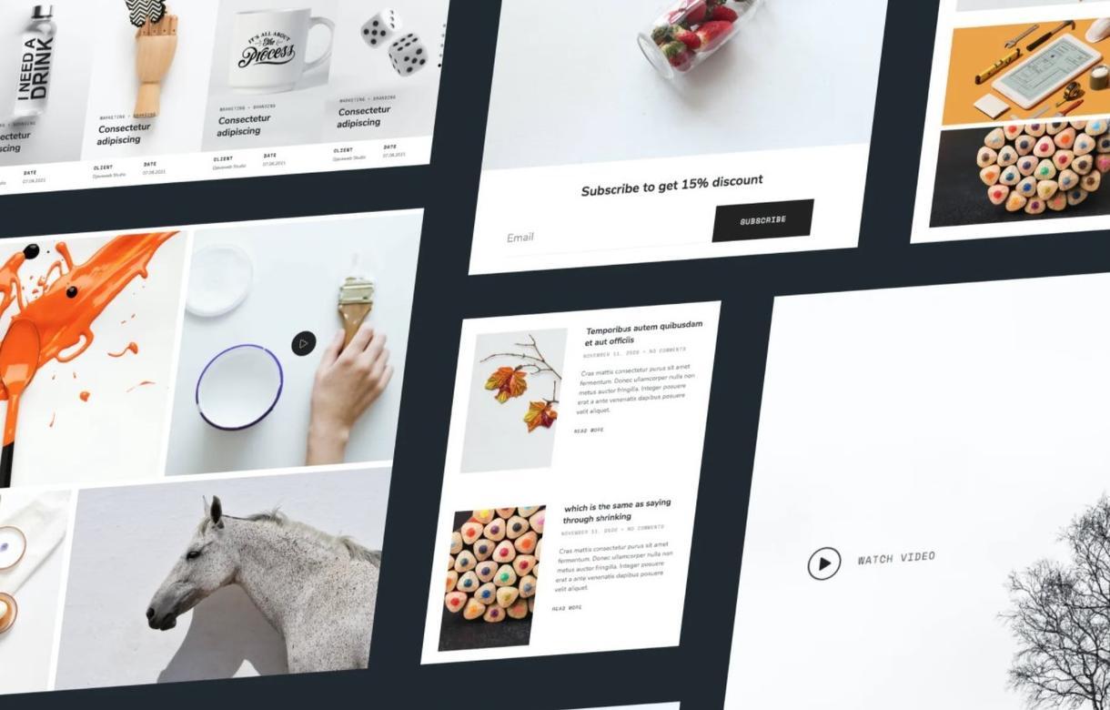 イラストレーター・フォトグラファー向けHP作ります プロが高品質なポートフォリオサイト・ホームページを格安で制作 イメージ1
