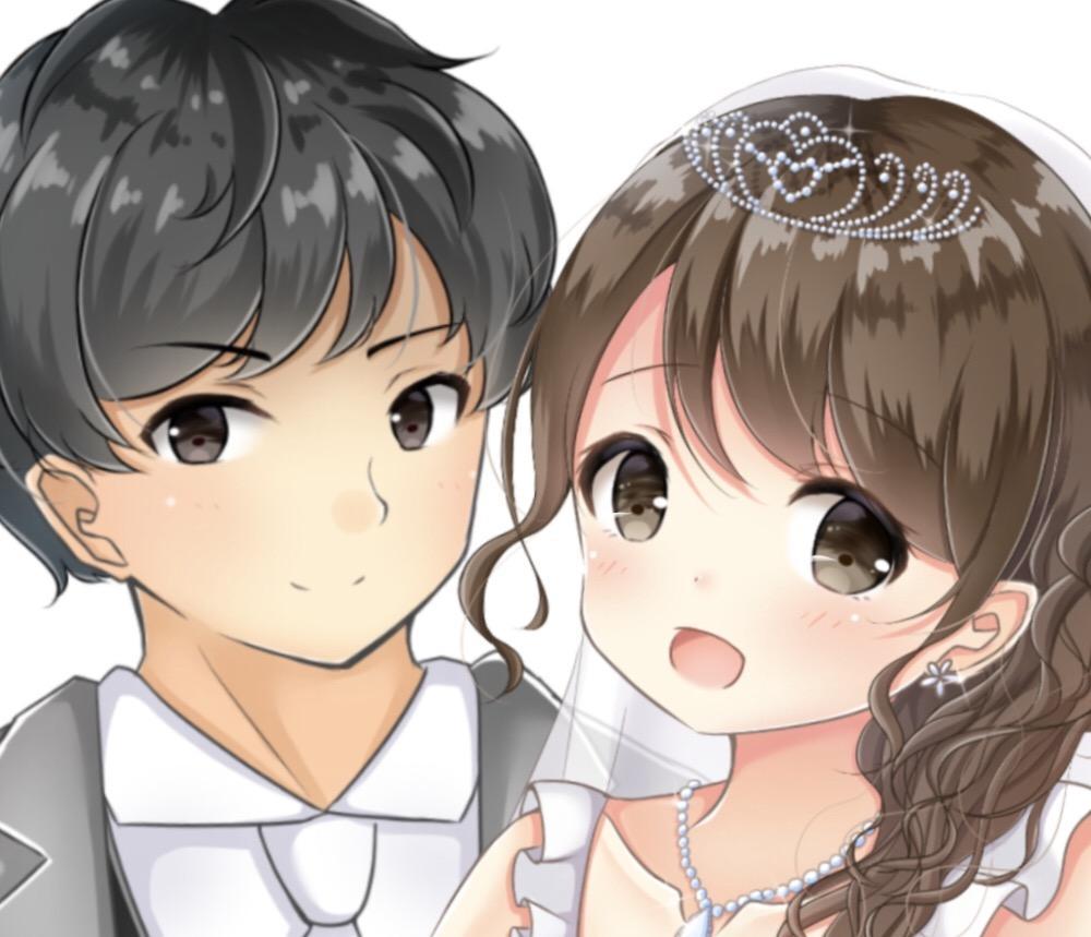 あなたを可愛いキャラクターに変身させます プレゼントやSNSアイコン、ウェディングなどにオススメ