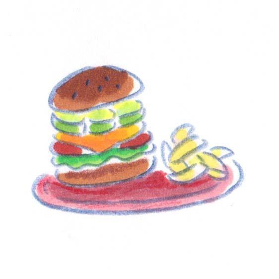 商用OK!挿絵にぴったり!ほっこりイラスト描きます やさしいタッチで美味しそうなカラーイラストを描きます!