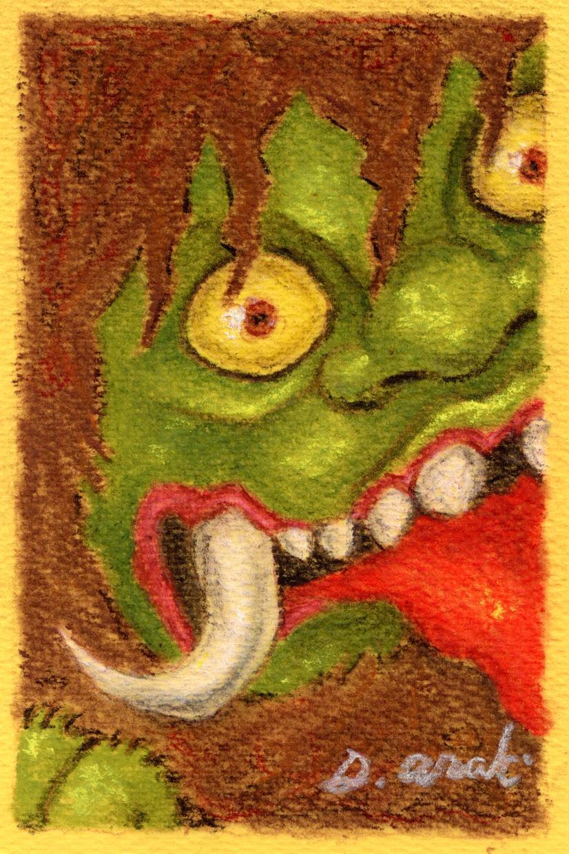 妖怪の絵を描きます 妖怪が好きな方。オリジナルの妖怪画が欲しい方。