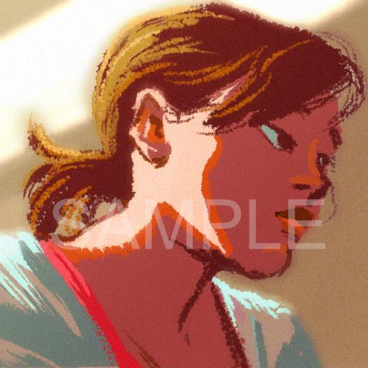 主線なしざっくりイラストでアイコンお描きします いただいたイメージからWEB用のアイコンをお描きします!