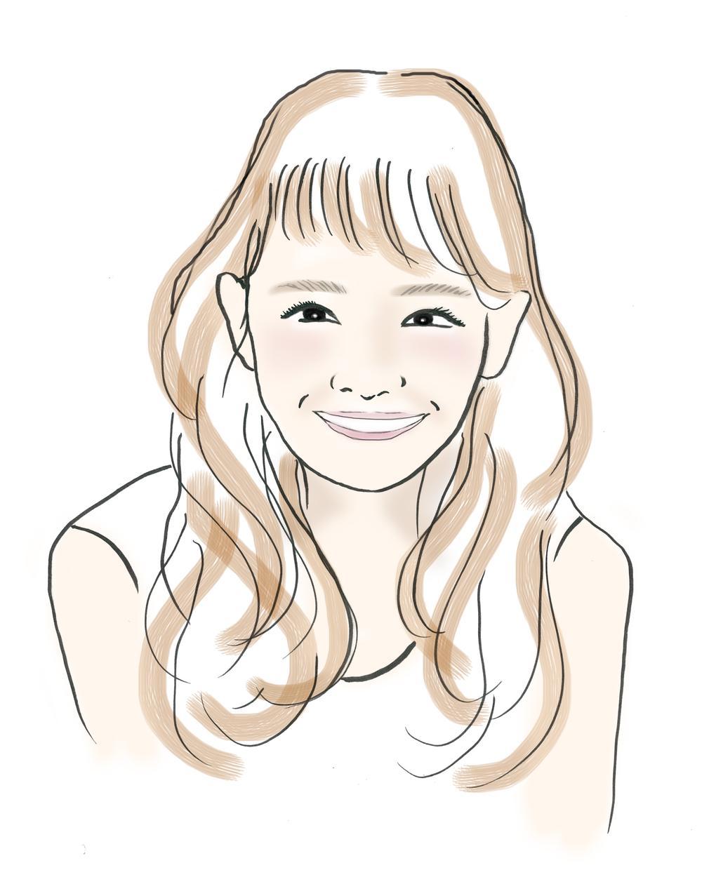 お洒落にゆる感たっぷりの優しい似顔絵、描きます デザイン会社の代表による描き下ろし!笑顔お届けします^ ^