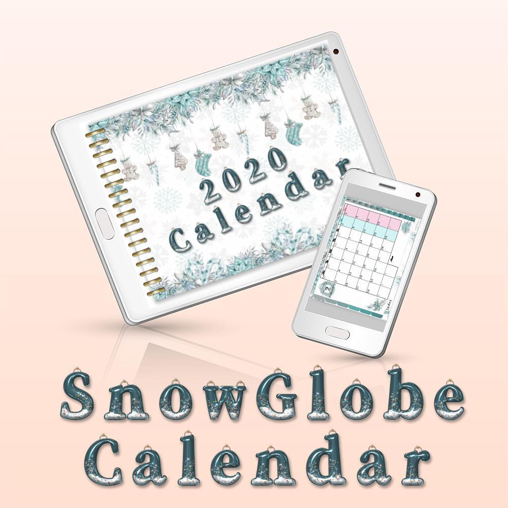 スマホ・タブレットで使用可能!カレンダー販売します GoodNotesで使える!5種類以上のデザイン