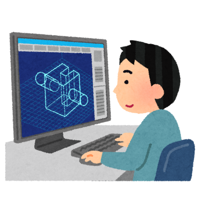 CADによる機械設計をサポートいたします 簡単なロボット、機械部品等の3Dモデルを作成したい方
